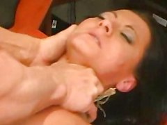 Lee Stone ravages Sandra hard in his office!