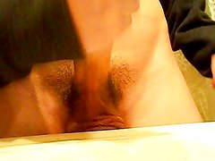 Again in the bath + cumshot