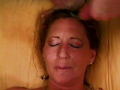 Mature lady anal drilled by horny guys