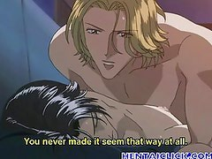 Handsome anime gay hardcore analsex