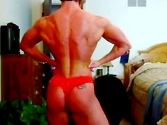 Insane body on ripped, sexy muscle beauty
