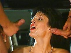 Liza Harper - french bitch fucked in car