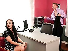 Ashli Orion does blowjob and fucks to show her qualifications! Part 4