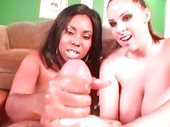 Gianna and Candace giving pleasure to you