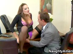 Nika Noire naughty office girl