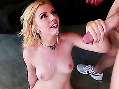 Lexi Belle fucked by a friend of her boyfriend to repair the car! Part 3