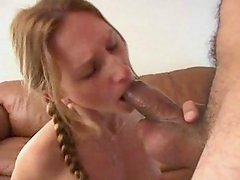 Horny Gen blows and swallows