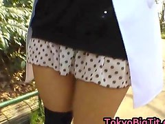 Airi Hot Asian model enjoys showing off