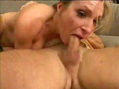 Blonde gagged and fucked hard