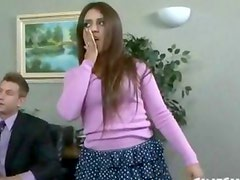 April ONeil Office Perverts 6