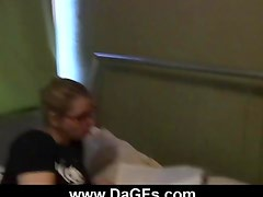 Co-Ed Luba Love s Dorm Room Romp