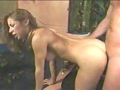 Primera vez - 19 year old black girl's first time