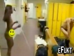 Naked blind girl in wrong changing room