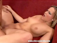 Hot Blonde Alexis Texas With Big Butt Sucks And Fucks Lucky Cock