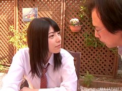Very private lesson with a sexy Japanese babe Ai