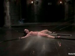 Water Torture for Katja Kassin after Toying Her in Bondage Session