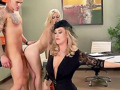 Ash Hollywood,Brandi Love and Clover in