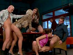 Hot group sex adventure with two dirty minded hotties