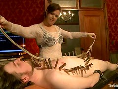 Naughty Hot Sex in Wild BDSM Party with Dominant And Submissive Girls