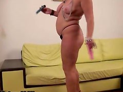 Mature european woman sucking