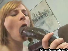 Hot girl loves to get a cock inside