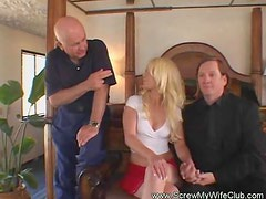 Kinky Swinger Wife Enjoys a Stranger