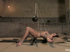 Beverly Hills gets her holes destroyed by insatiable blonde Lorelei Lee