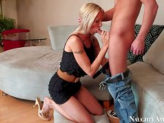 Lusty experienced Emma Star with slim sexy body and big