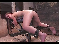 Hot Babe's Held Down To Get An Enema