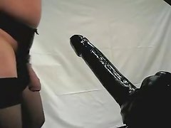 Large sex tool 360x80mm all in a sexy butt