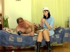 Kinky nurse Kimberly B takes care of her patient