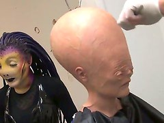 This is going to be an amazing adult video hot chicks AgnessaDebbie and Alexandria Devine are dressing up as an alien