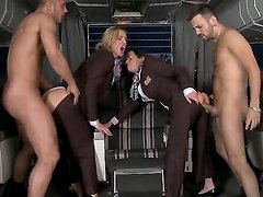 Amazing and spectacular group sex with hot bitches Veronica Avluv and Tanya Tate and their