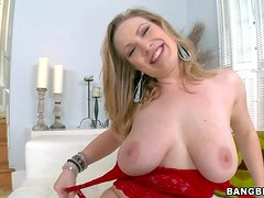 Vicky Vixen is a big breasted milfy lady. She shows