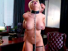 Alexis Ford enjoys hard pleasures
