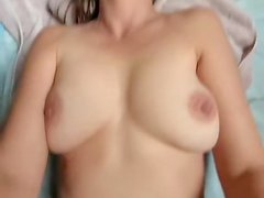 Connie freshly showered and hairless snatch