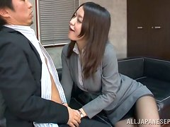 Kaede Niiyama gets her snatch licked and pounded hard from behind