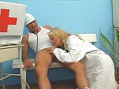 The hospital personnel fucking each other