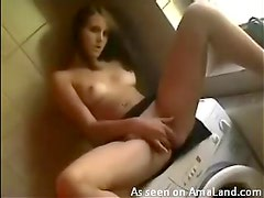 Horny amateur craves cock and cum