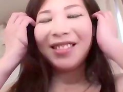 hot cheating japanese milf creampied