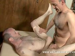 Daddy Fucks His Masseur