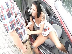 German slut woman dogging in parkplatz