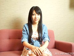 Japanese Girl Main Aono Loves to Play with Her Sex Toys