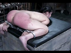 An Intense Bondage Scene With The Kinky Circe Borges