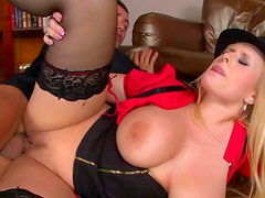 Anal fuck with perverted milf Angel Wicky