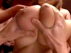 Japanese Huge Tit Gang Bang Sex