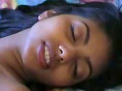 Mouth-watering Indian chick is getting nailed hard from behind