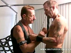 Mature Leather Daddies Fucking