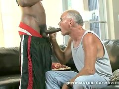 Old Daddy Fucks A BBC