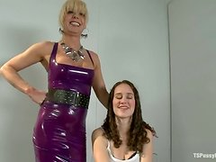 Classy Mature Lady Is Actually A Fucking Horny Transvestite! Please Stop Fucking Me!